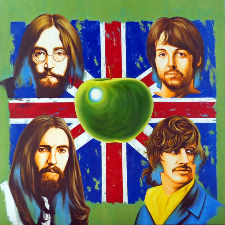 The Beatles by Hector Monroy