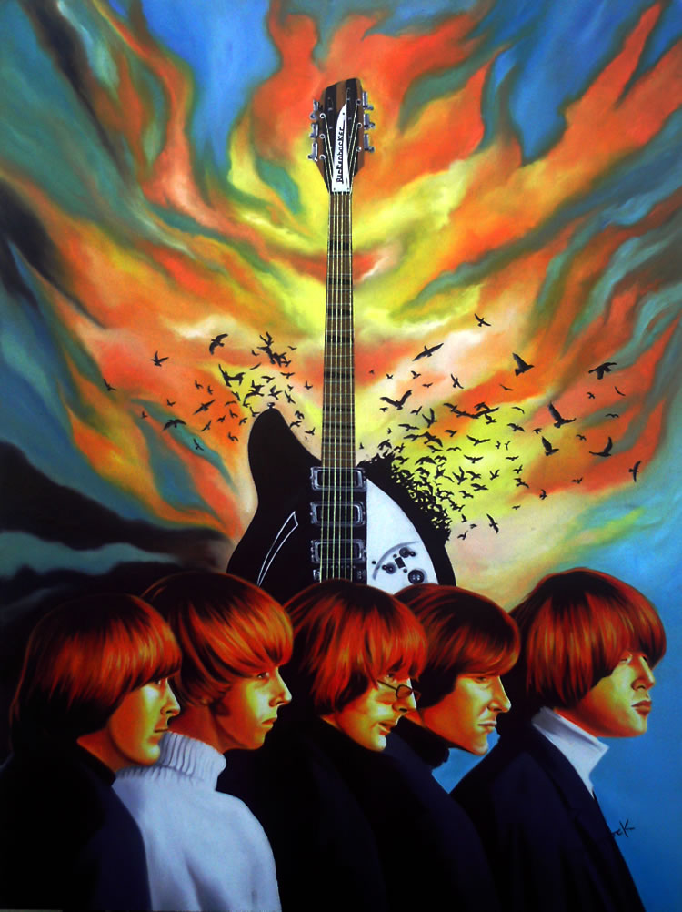 The Byrds by Hector Monroy