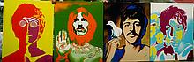 The Beatles Psychedelic by Hector Monroy