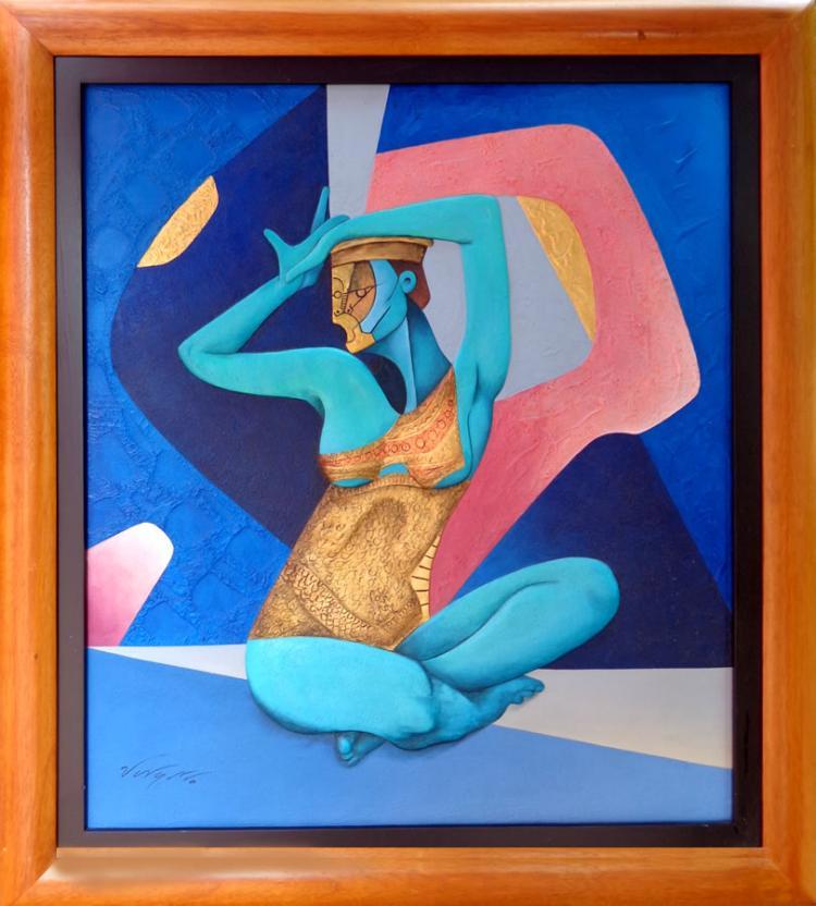 Woman Flower by Jorge Vargas