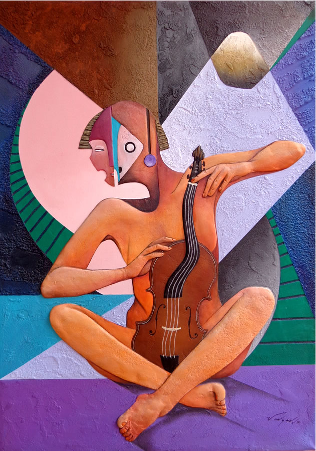 The Violinist by Jorge Vargas