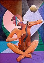 Violinist by Jorge Vargas