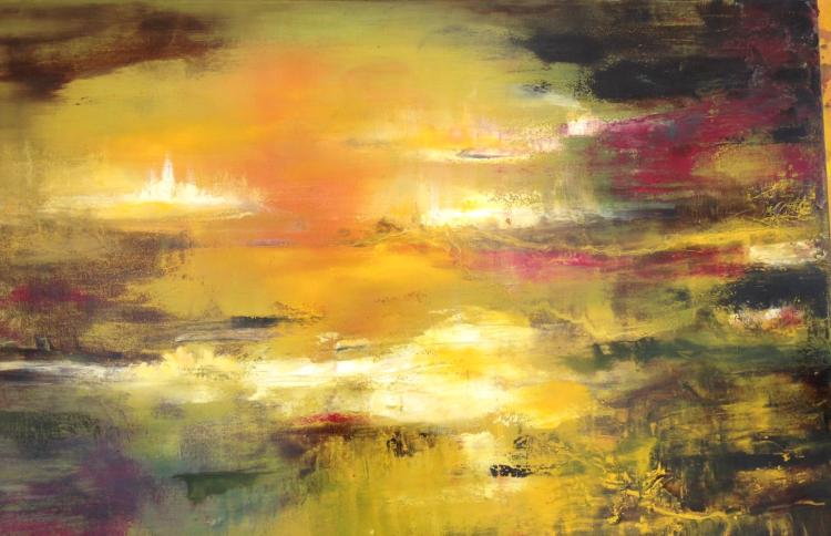 Yellow Fog by Nicole Denarie