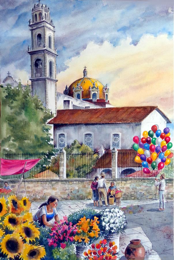 Las Floristas by Ernesto Cossio