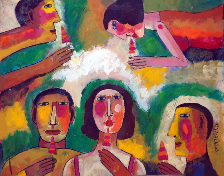 Los Pirulis by Victor Uhthoff