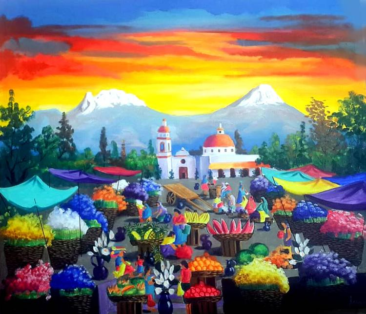 Folklorical Town by Alex Oropeza