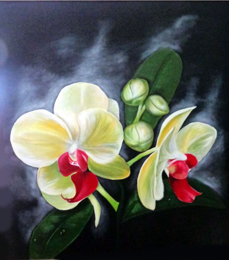 The Orquideas by Regina Zenil