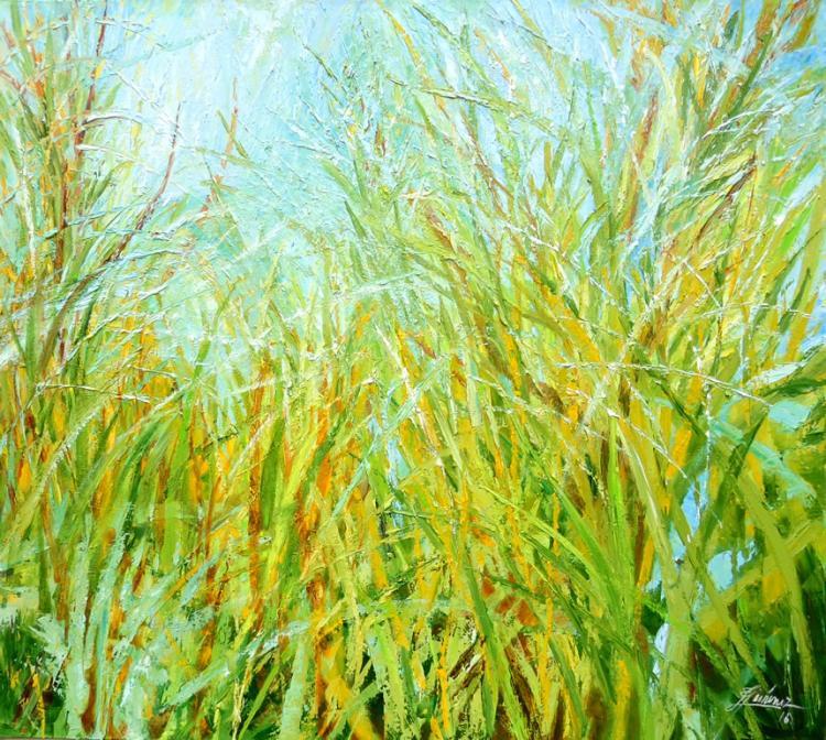 Green Grass by Emma Letizia Jimenez