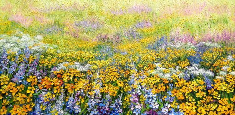 Yellow Field by Emma Letizia Jimenez