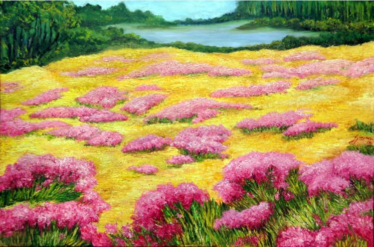 Lavanda Field  by Emma Letizia Jimenez