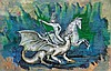 Saint George vs Dragon by Jose Francisco Bravo, Jose Francisco Bravo, Click for value