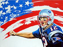 Tom Brady by Hector Monroy