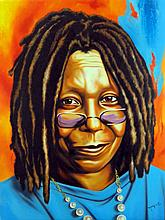 Whoopi Goldberg by Hector Monroy