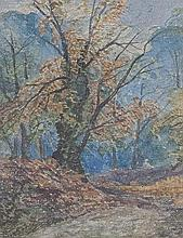 In the Leigh Woods, Clifton Bristol, watercolour on paper
