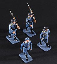 IS272 - Iron Sky - Set of Luftwaffe Miniature Figures