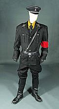 IS005 - Iron Sky - Klaus' (Gotz Otto) Black Uniform Costume