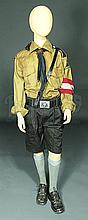 IS068 - Iron Sky - German School Boy's  Costume