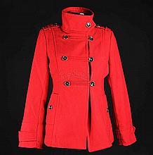 IS024 - Iron Sky - President's (Stephanie Paul) Red Jacket, Glasses & Heels