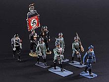 IS263 - Iron Sky - Prop German Miniature Soldier Set