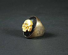 IS247 - Iron Sky - Wolfgang's (Udo Keir) Original Totenkopf Skull Ring