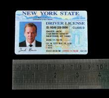24 (TV 2001-2010) - Jack Bauer's (Kiefer Sutherland) Driving Licence