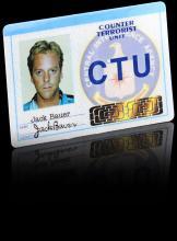 24 (TV 2001-2010) - Jack Bauer's (Kiefer Sutherland) CTU ID