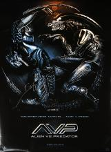 ALIEN VS. PREDATOR (2004) - Autographed Limited Edition One Sheet Poster