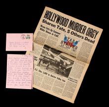 APOCALYPSE NOW (1979) - Captain Willard's (Martin Sheen) Letter and Newspaper