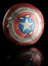 CAPTAIN AMERICA: THE FIRST AVENGER (2011) - Captain America's (Chris Evans) Distressed Shield