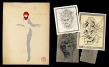 CAPTAIN EO (1986) - Hand-Drawn Concept Artwork