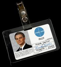 CATCH ME IF YOU CAN (2002) - Frank's (Leonardo DiCaprio) Pan Am ID