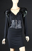 IS055 - Iron Sky - Vivian's (Peta Sergeant) Feather Dress Costume
