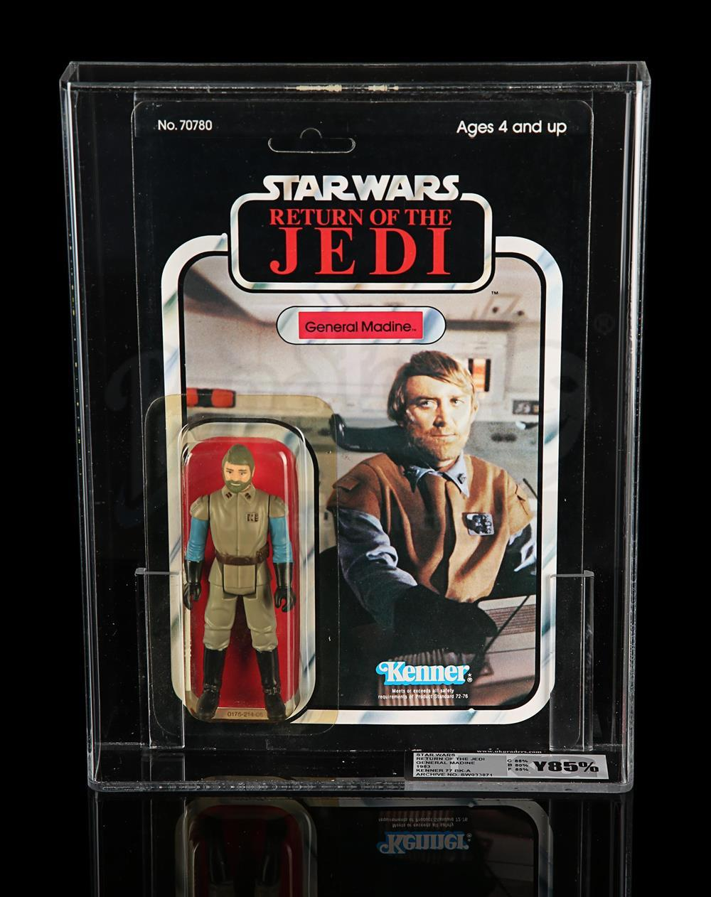 VINTAGE STAR WARS REPRODUCTION GENERAL MADINE RETURN OF THE JEDI STAFF