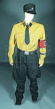 IS048 - Iron Sky - Washington's (Christoper Kirby) Brown German Uniform Costume