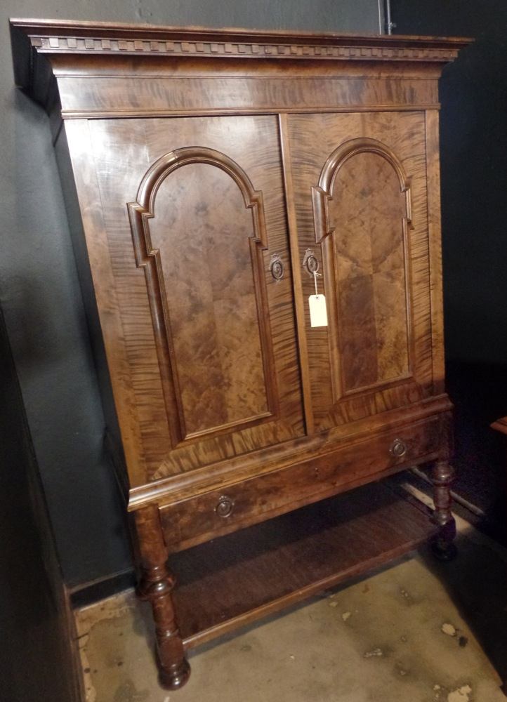 Flame mahogany cabinet on stand Home furniture auctions cape town