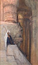 CLAIRIN Georges Jules Victor (1843-1919) «Le repos du jeune berger ». Past