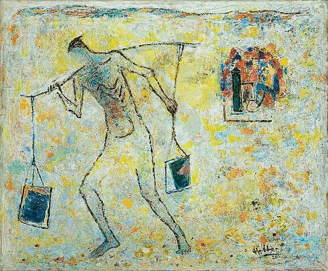 Kattingeri Krishna Hebbar  1911 - 1996  Untitled
