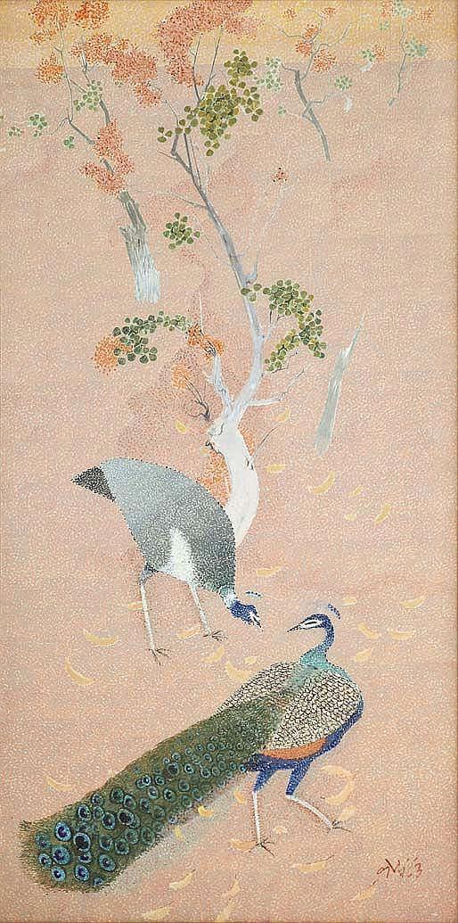 Narayan Shridhar Bendre  1910 - 1992  Untitled