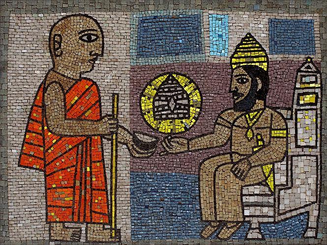Badri Narayan  b. 1929  Untitled