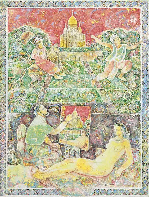 Sakti Burman  b.1935  Untitled