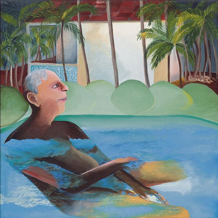 Bhupen Khakhar  1934 - 2004  Untitled