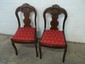 2 Walnut Empire Period Chairs