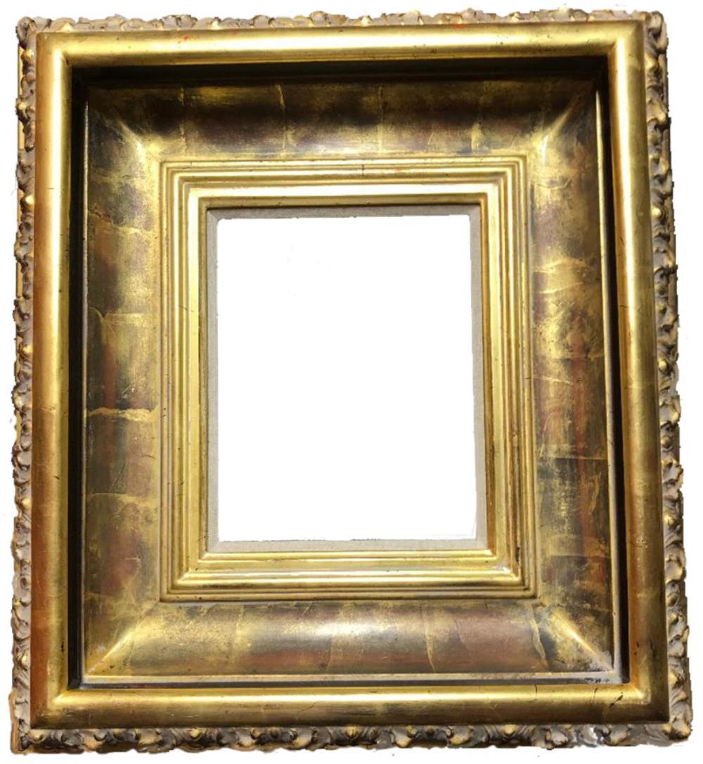Custom Gold Leaf Frame