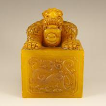 Chinese Shoushan Stone Tianhuang Stone Pixiu Seal