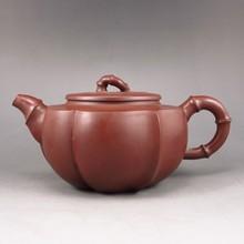 Fine Handmade Chinese Yixing Zisha Old Clay Teapot Artist Signed