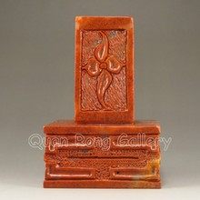 Hand-carved Chinese Shoushan Stone Seal / Stamp