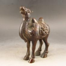 Chinese Bronze Statue - Camel