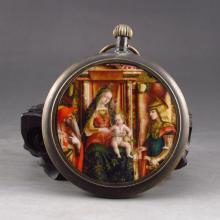 Handmade Bronze Pocket Watch