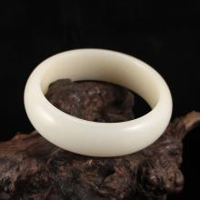 Inside Diameter 59 mm Superb Chinese Hetian Jade Bracelet