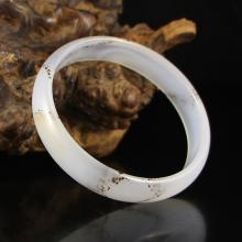 Inside Diameter 60 mm Chinese Natural Agate Bracelet